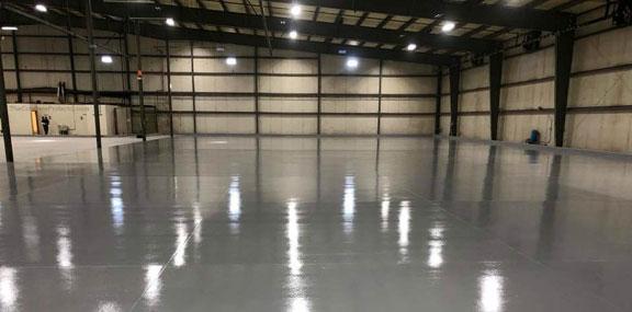 Interior Concrete Flooring | Epoxy Flooring Contractor