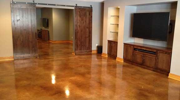 Epoxy Basement Flooring Basement Concrete Floor Epoxy